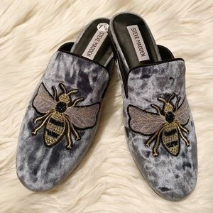 Steve Madden Hugh Mules with Bees